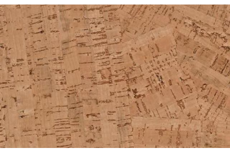Rouleaux de papiers peints (tapisserie) en liège - plusieurs modèles