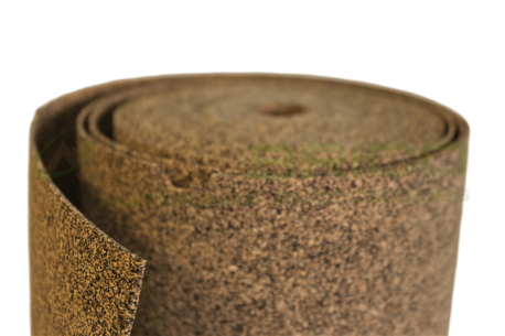 Sous-couche caoutchouc et liège en rouleau 2mm-Granulométrie