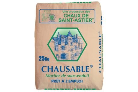 Mortier de sous-enduit – Chaux Chausable Saint-Astier