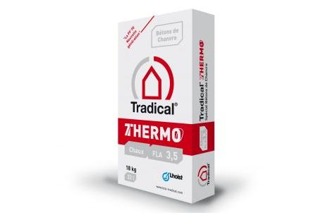 TRADICAL THERMO : Réalisation de béton chaux-chanvre
