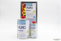 Diluant végétal aux huiles essentielles d'orange n°191 AURO - 3 conditionnements