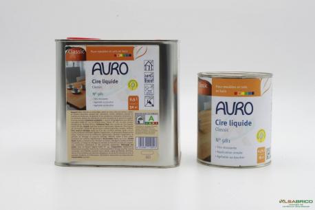 Cire pour bois végétale n°981 AURO