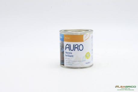 Vernis brillant pour meuble et objet bois n°251 AURO - Pot de 0.375L face
