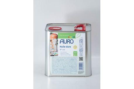 Huile dure pour sols n°126 AURO - Pot de 2.5L