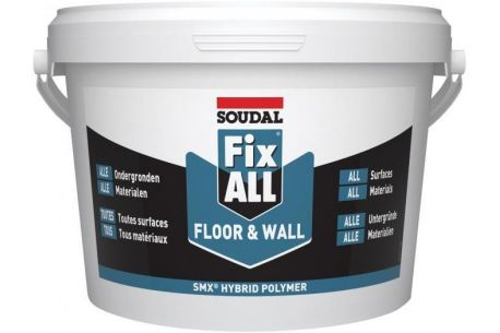 Colle pour liège mural FIX ALL Floor & Wall SOUDAL