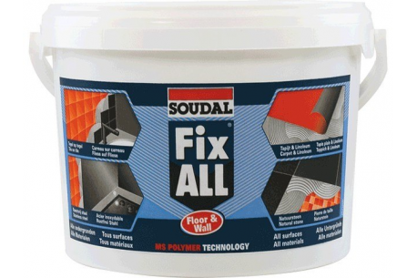 Colle Fix All pour liège mural seau de 4kg