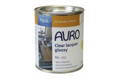 Vernis brillant (laque) sans solvant pour meubles et objets en bois n°251 AURO