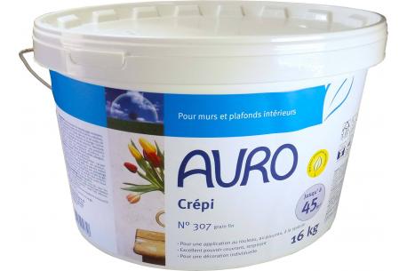 Crépi écologique à grain fin blanc n°307 AURO